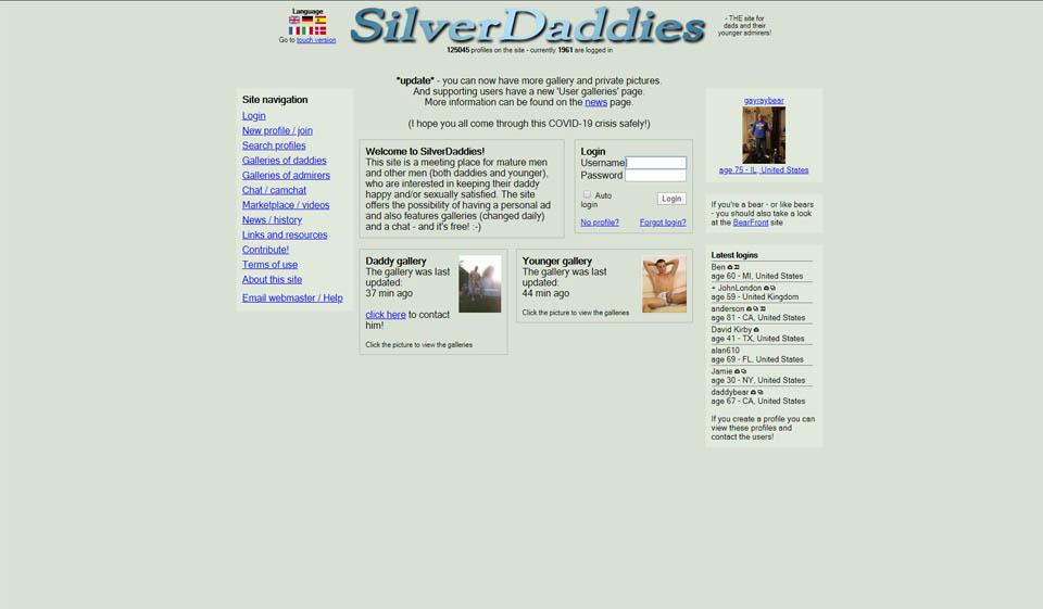 SilverDaddies Opinión 2021