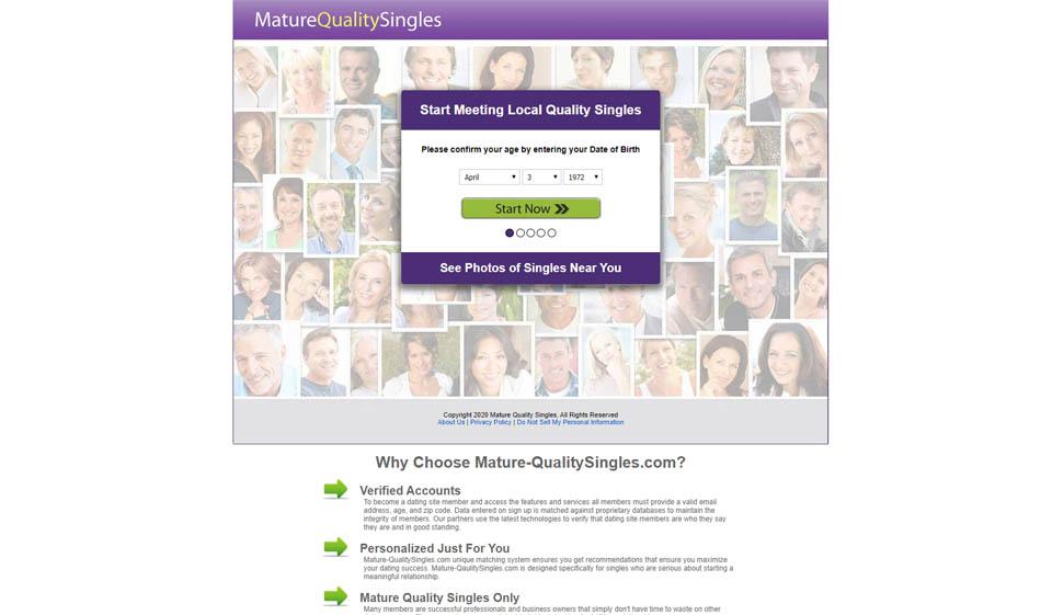 Mature Quality Singles Opinión 2021